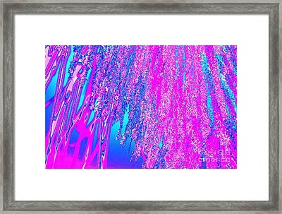 Pink Rain Framed Print by John Le Brasseur
