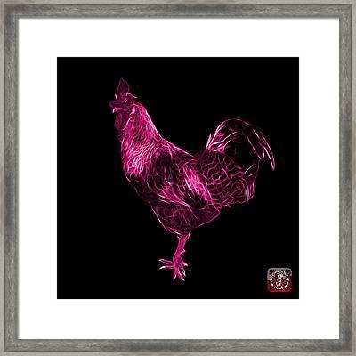 Pink Rooster 3186 F Framed Print