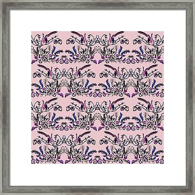 Pink Slut Framed Print by Sumit Mehndiratta