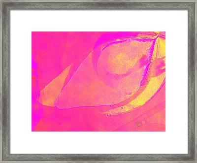 Pink Soul Dance Framed Print by Ernestine Manowarda