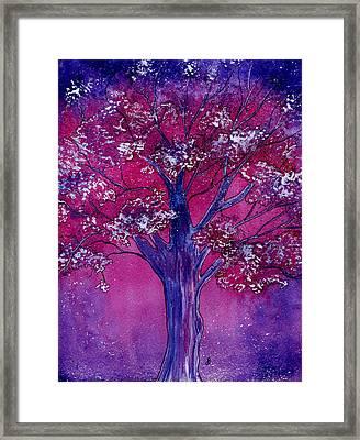 Pink Spring Awakening Framed Print