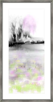 Pink Tree #2 Framed Print by Jessica Wright