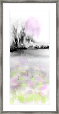 Pink Tree #2 Framed Print