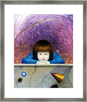 Pink Tunnel Framed Print