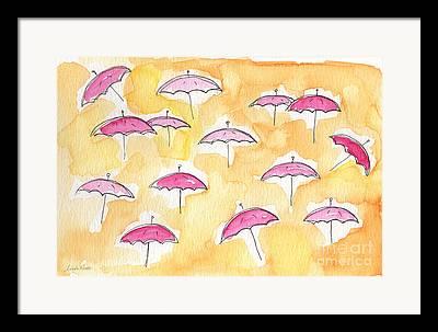 Summer Storm Framed Prints