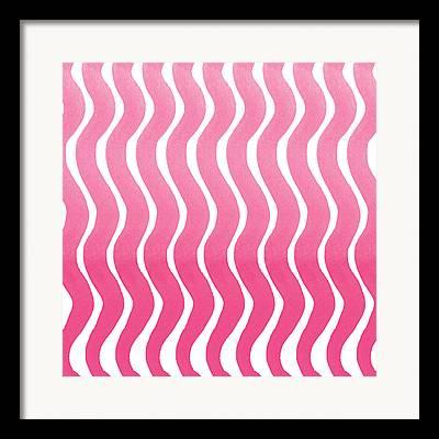 Pastel Pink Framed Prints