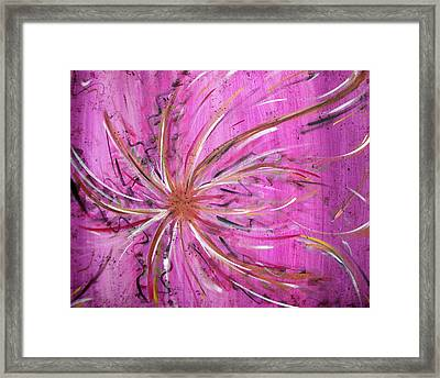 Pink Whisp Framed Print