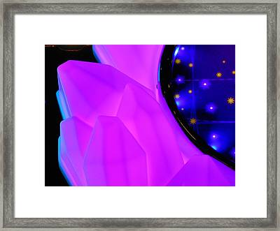 Pink Window To The Stars Framed Print