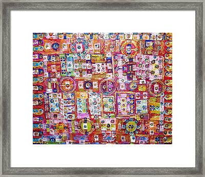 Pink World Framed Print by Ben Asayag