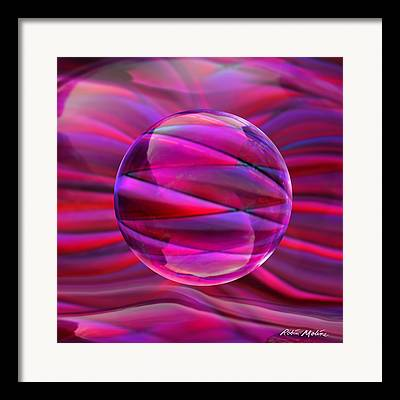 Luminous Globe Framed Prints