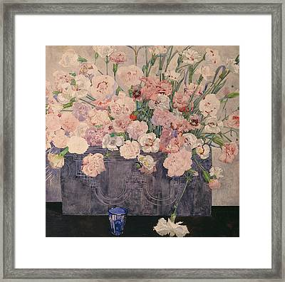 Pinks Framed Print by Charles Rennie Mackintosh