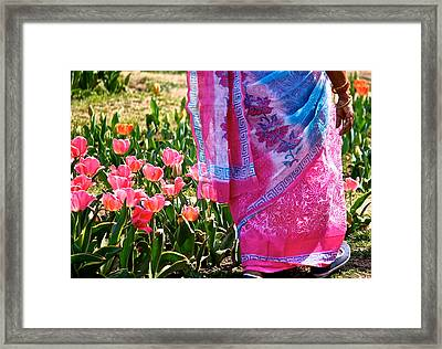 Pinks Framed Print