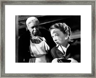 Pinky, From, Left, Ethel Waters, Jeanne Framed Print