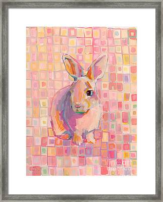 Pinky Framed Print by Kimberly Santini