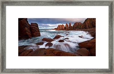Pinnacle Morning Framed Print