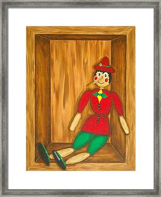 Pinocchio Framed Print by Pamela Allegretto