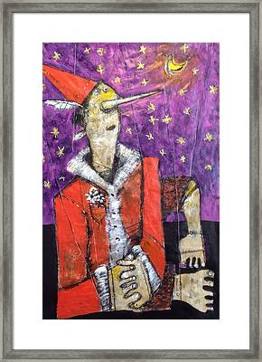 Pinocchio  No. 1  Framed Print by Mark M  Mellon