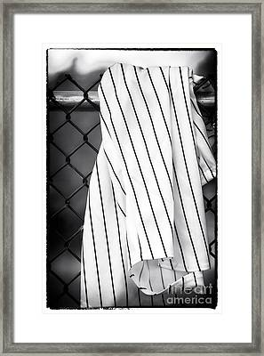 Pinstripes Framed Print by John Rizzuto