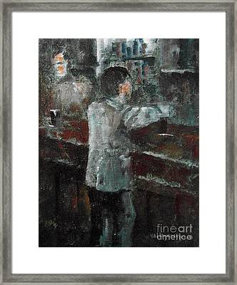 Pint Time Framed Print