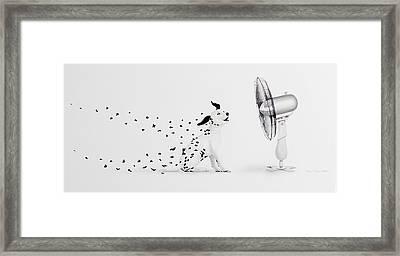 Pintas Al Aire Framed Print