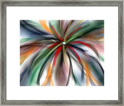 Pinwheel Abstract Framed Print