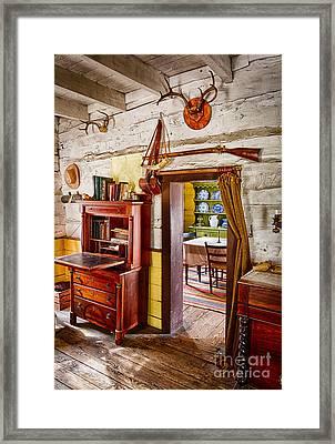 Pioneer Dining Room Framed Print by Inge Johnsson