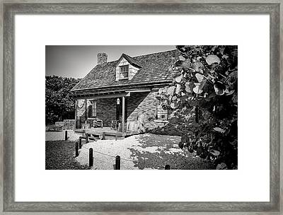 Pioneer House Framed Print by Rudy Umans