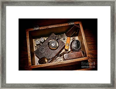 Pioneer Keepsake Box Framed Print by Olivier Le Queinec