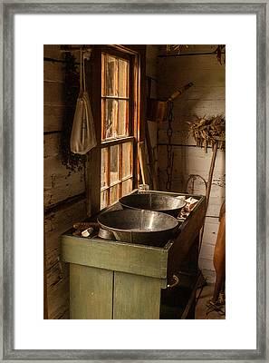 Pioneer Kitchen Framed Print by Douglas Barnett