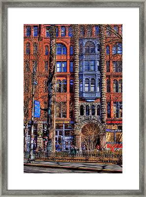 Pioneer Square No.1 Framed Print