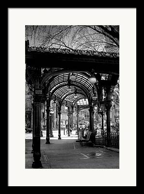 Pioneer Square Seattle Framed Prints