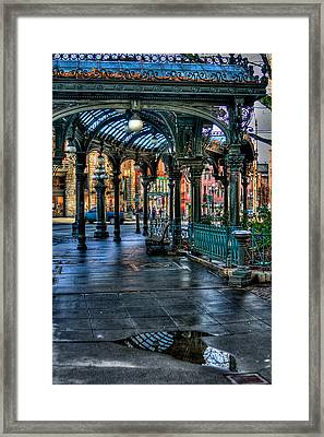 Pioneer Square - Seattle Framed Print by David Patterson