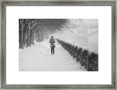 Pioneering The Alley - Featured 3 Framed Print by Alexander Senin