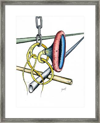 Pipe Dream Framed Print by Sam Sidders