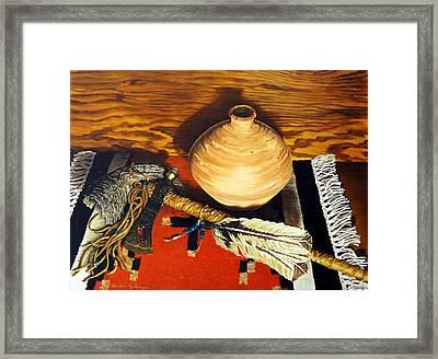 Pipe Hawk Framed Print