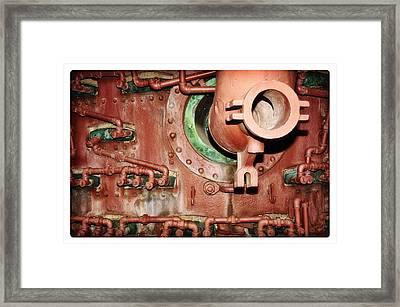 Pipe Maze Framed Print by Davina Washington