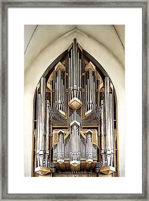 Pipe Organ Framed Print