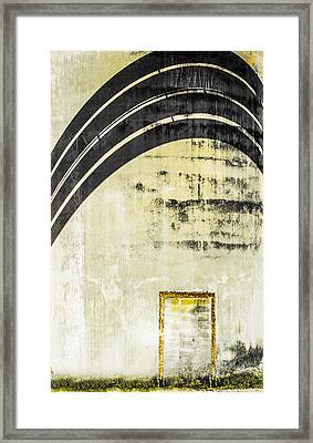 Piped Abstract 4 Framed Print by Carolyn Marshall