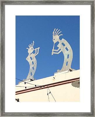 Piper Framed Print by Ben Ong