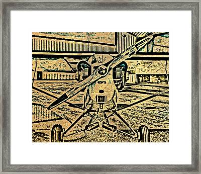 Piper Cub Framed Print