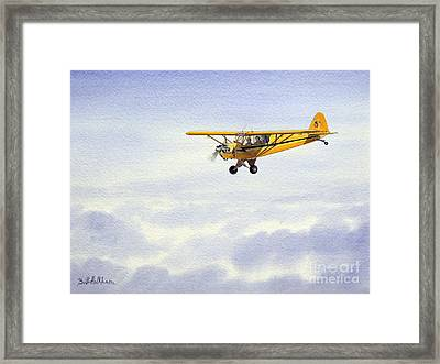 Piper J-3 Cub Framed Print