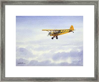 Piper J-3 Cub Framed Print by Bill Holkham