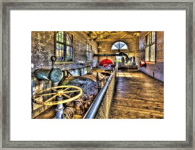 Pipes And Pumps Framed Print