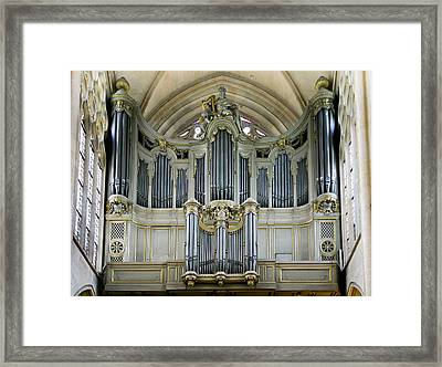 Pipes In Paris Framed Print by Jenny Setchell