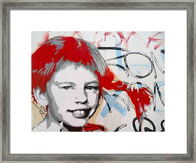 Pippi Longstocking  Framed Print by Juergen Weiss