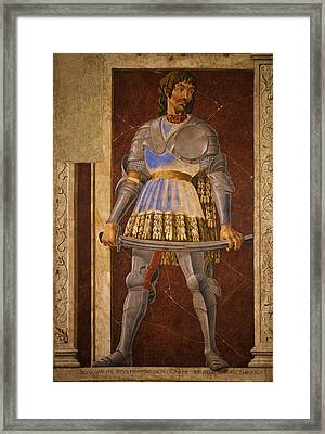 Pippo Spano Framed Print by Andrea del Castagno