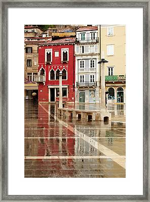 Piran Tartini Square Framed Print