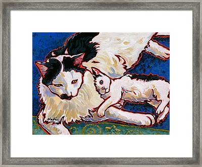 Pirate And June Framed Print