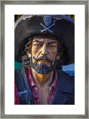 Pirate Captain Framed Print by Garry Gay