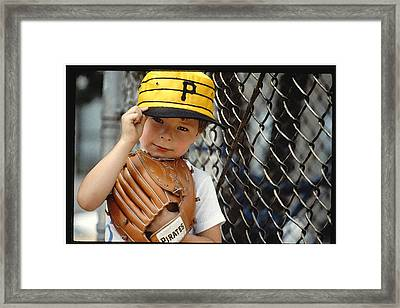 Pirate Fan Framed Print by Tod Ramey
